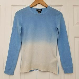Lord & Taylor Petite Cashmere Crew Neck Sweater